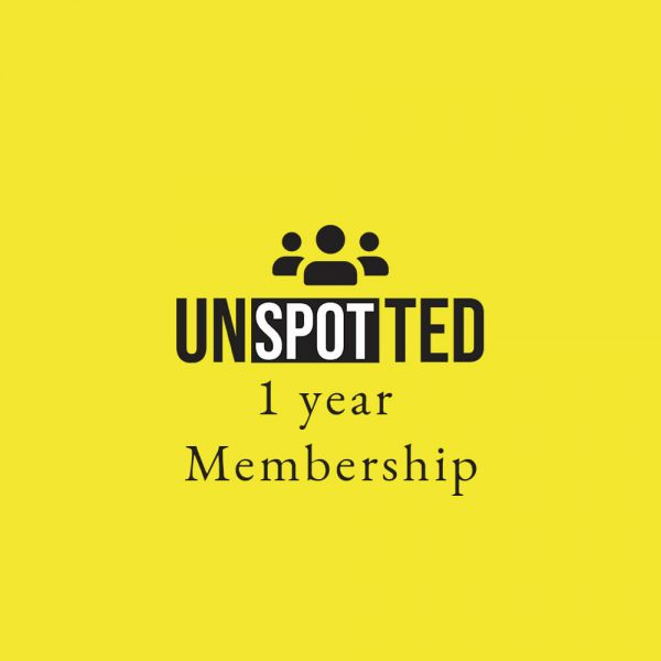 Register to get 1 year Subscription to Unspotted Magazine