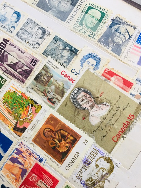 Rare stamps though time